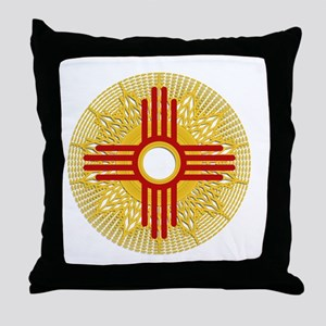 SUNBURST ZIA Throw Pillow