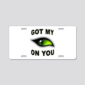 EYE Aluminum License Plate