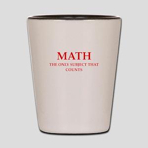 math Shot Glass