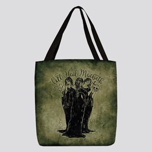 Witches All Hail Macbeth Polyester Tote Bag