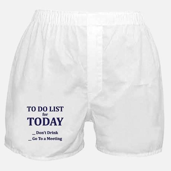 Bill & Bob's 12 and 12 Diner Boxer Shorts