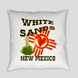 WHITE SANDS LOVE Everyday Pillow