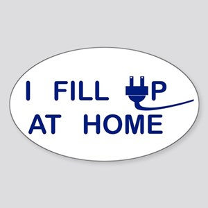 I Fill Up At Home Sticker