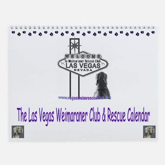 Weimaraner Calendar Wall Calendar