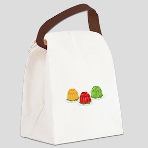 Jello Dessert Molds Canvas Lunch Bag