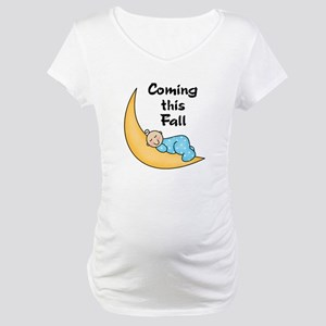 Fall (white boy) Maternity T-Shirt