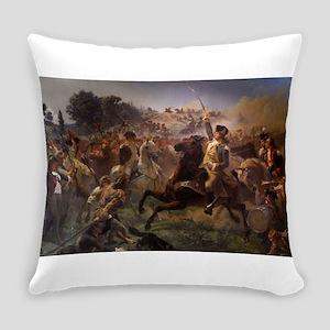 washington at monmouth Everyday Pillow