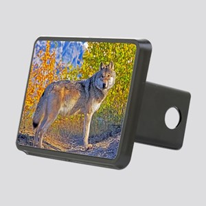 Timber Wolf Rectangular Hitch Cover
