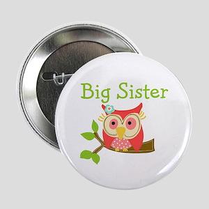 "Owl Big Sister 2.25"" Button"