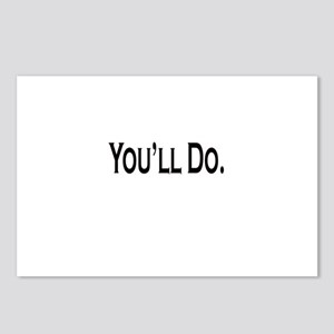 You'll Do Postcards (Package of 8)