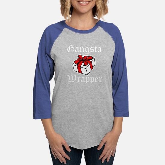 Gangsta Wrapper funny Christmas Shirt Long Sleeve