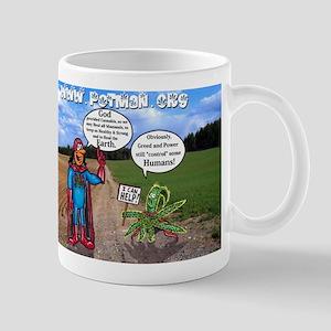 Potman & Courteous Cannabis Know Better. Mugs
