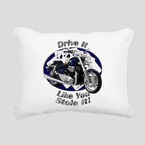 Triumph Thunderbird Rectangular Canvas Pillow