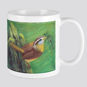 Carolina Wren Springtime Mugs