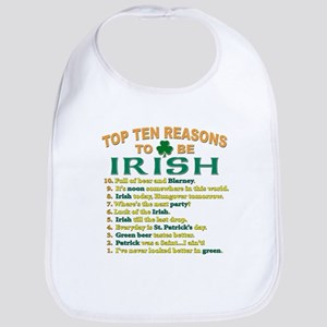 Top reasons to be Irish Bib