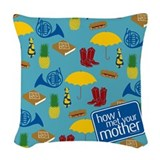 Met your mother Woven Pillows