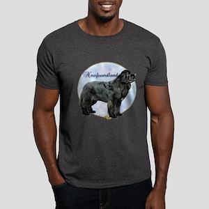 Newfie Portrait Dark T-Shirt