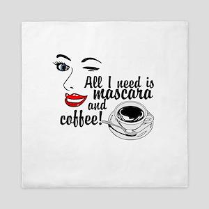 Mascara Coffee Queen Duvet