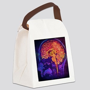 Climb into Thoughts Canvas Lunch Bag