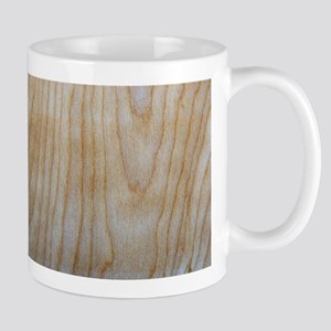 Chic Wood Grain Pattern Stainless Steel Trave Mugs