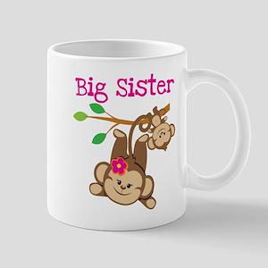 Monkey Big Sis W. Baby Bro Mug Mugs