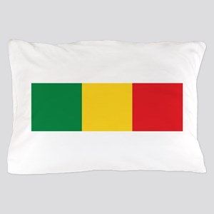 Green, Gold and Red Flag Pillow Case