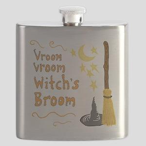 Vroom Vroom Witch's Broom Flask