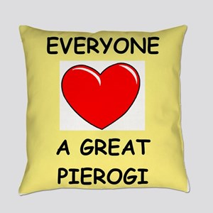 pierogi Everyday Pillow
