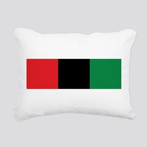 The Red, Black and Green Flag Rectangular Canvas P
