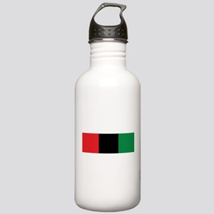 The Red, Black and Green Flag Sports Water Bottle