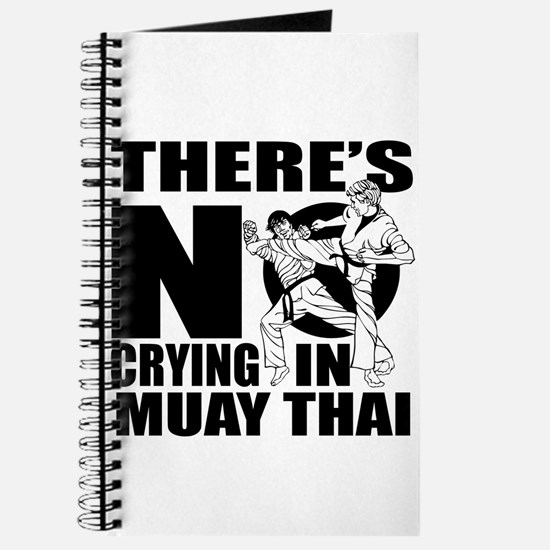 There Is No Crying In Muay Thai Journal