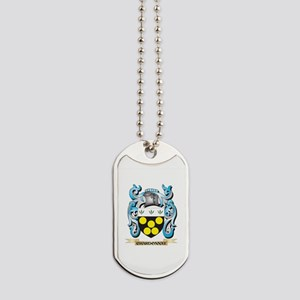 Chardonnay Coat of Arms - Family Crest Dog Tags