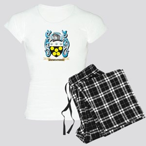 Chardonnay Coat of Arms - Family Crest Pajamas