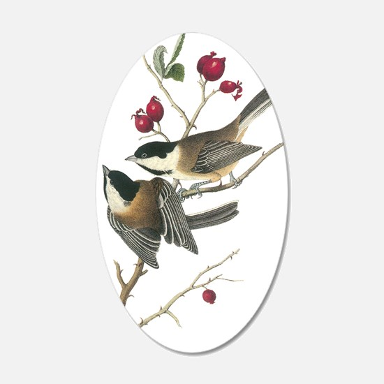 Black-Capped Chickadee Wall Decal