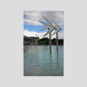 Cairns Australia Souvenir Photo Area Rug