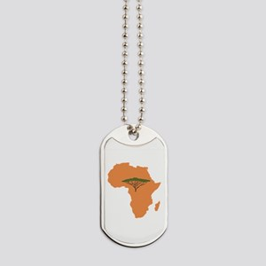 African Continent Dog Tags