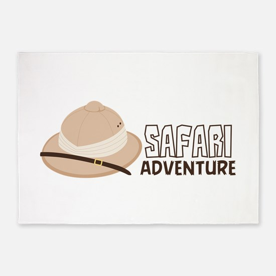 Safari Adventure 5'x7'Area Rug
