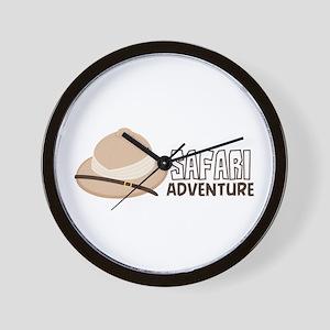 Safari Adventure Wall Clock