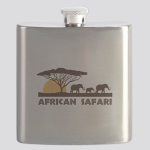 African Safari Flask
