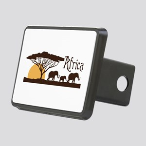 African Sunset Hitch Cover