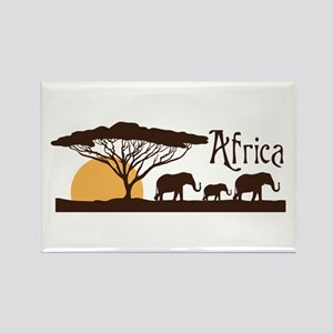 African Sunset Magnets