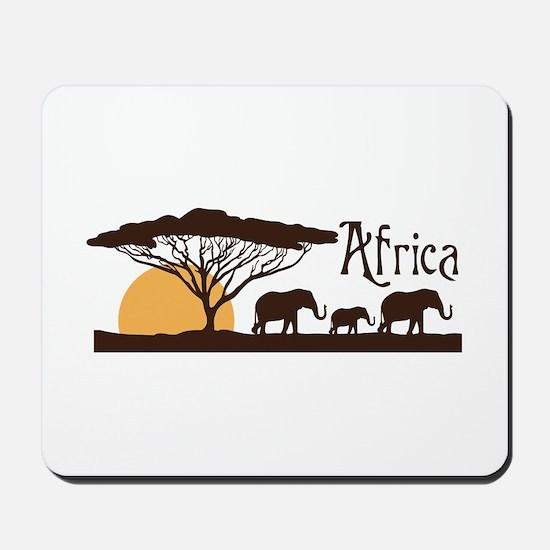 African Sunset Mousepad