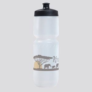 African Sunset Sports Bottle