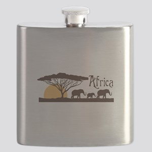 African Sunset Flask