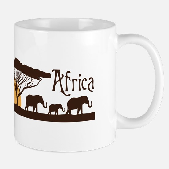 African Sunset Mugs