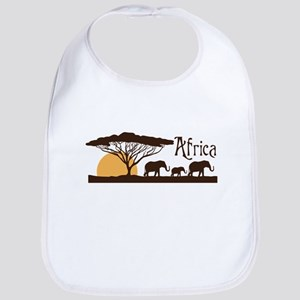 African Sunset Bib
