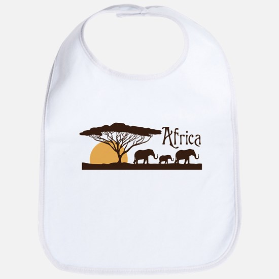 African Sunset Bib