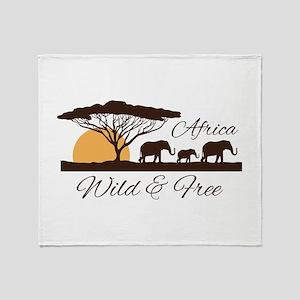Wild & Free Throw Blanket