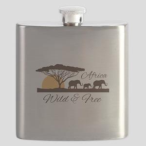 Wild & Free Flask