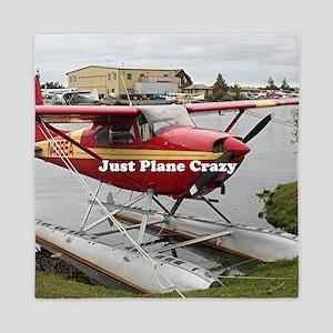 Just plane crazy: float plane 22 Queen Duvet